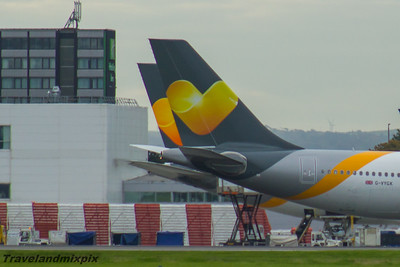 Airbus A330's of Thomas Cook Airlines