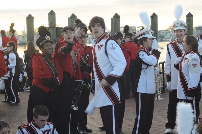 UC Band_UC vs Virginia Tech_Military Bowl_Anapolis, MD_12-27-2014