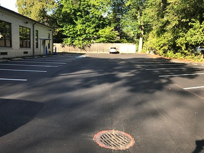 Repaving of Holy Trinity's Church Parking Lot, August 2019