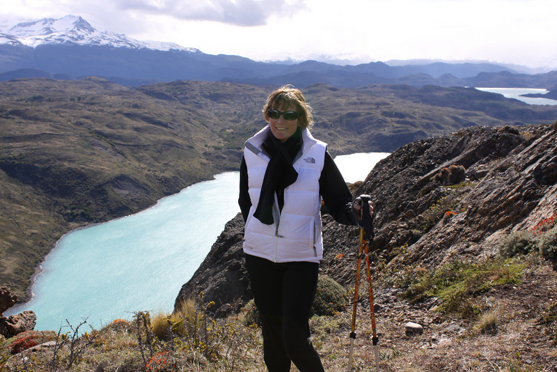 five hour hike along Cornices