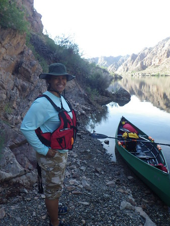 Ally canoe 16 FT   Vegas to border of Mexico