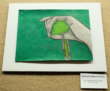 Advent Episcopal School Student Artwork