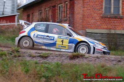 30.09.2006 - SM Finnsco-ralli, Hyvinkää