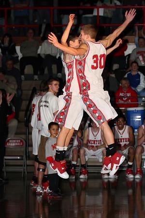 2008 Mentor vs Lake Catholic Basketball
