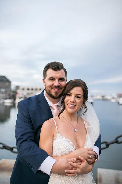 Kelly & Justin's Timeless Marriott Long Wharf Wedding