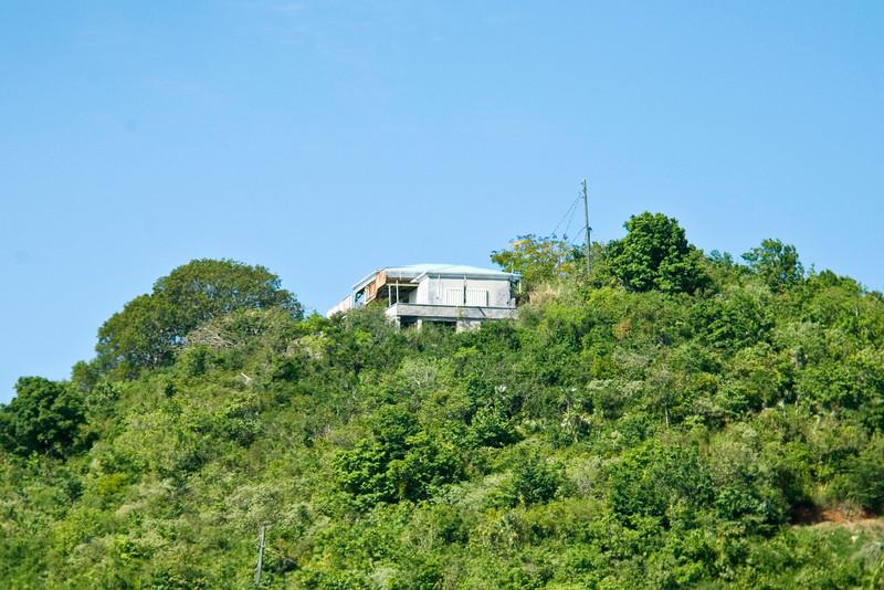 Hillside homes in St Thomas