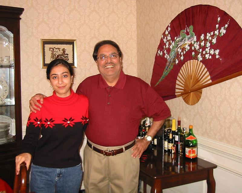 Payal Nanda [Cousin], Arun Nanda [Paternal Uncle]