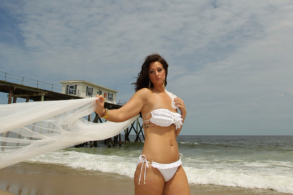 Model Shoot on Belmar Beach June 2011