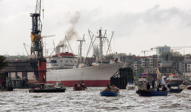 Hamburg Hafengeburtstag Einlaufen Cap San Diego