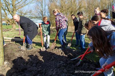 Vinkhuizen Hoendiep 2017 Nationale Boomplantdag