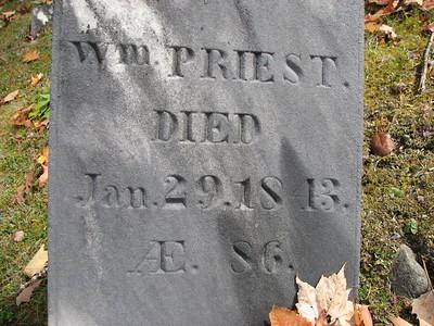 William Priest Grave