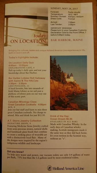 Bar Harbor May 24
