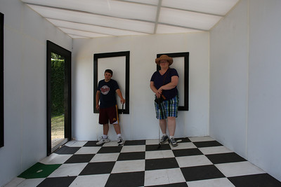 Walker Art Golf with Luke and JW