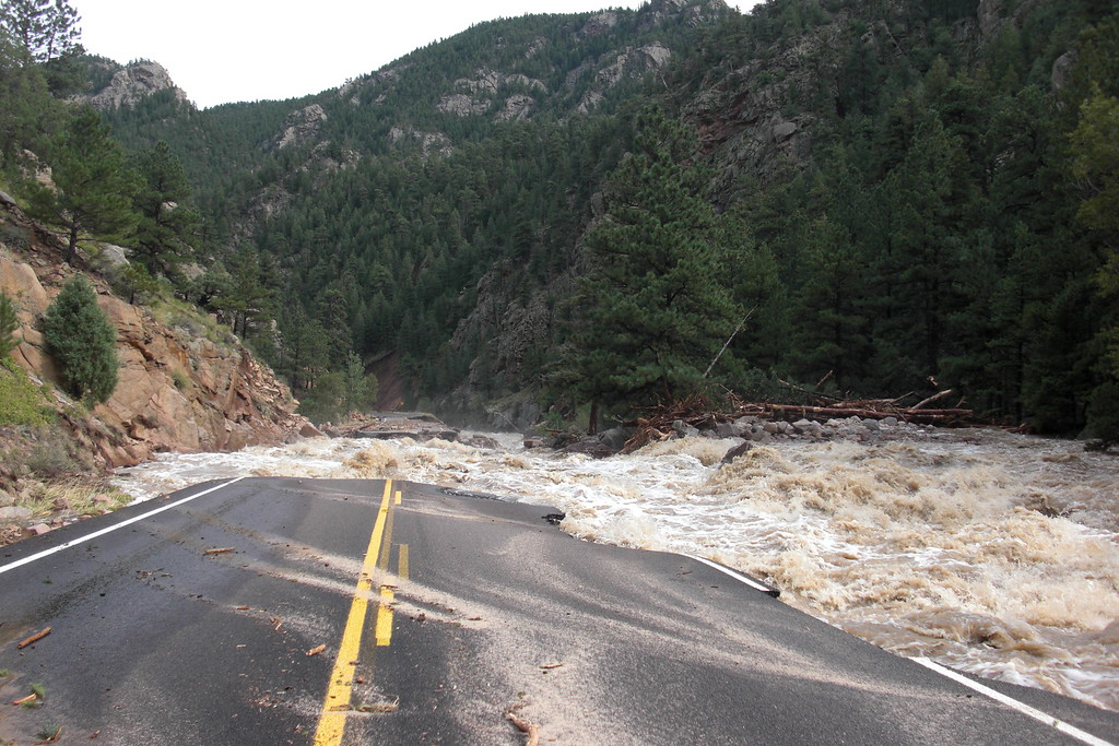 . From mile 27 to 24.5 from Riverside toward lyons. Photo By Leslie Whitaker