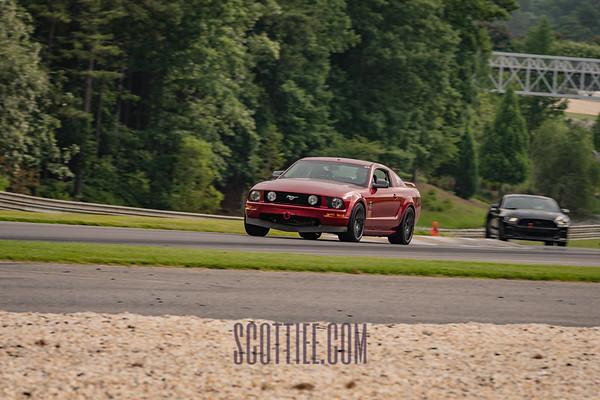 Mustang Red #96