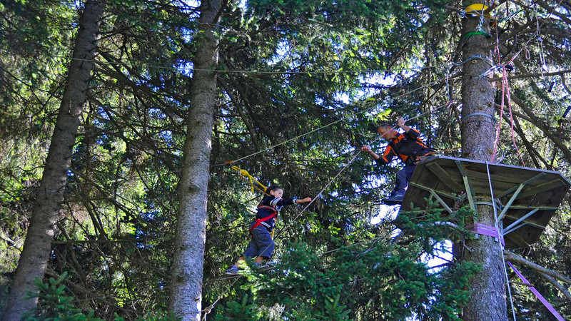 Ropes course projects