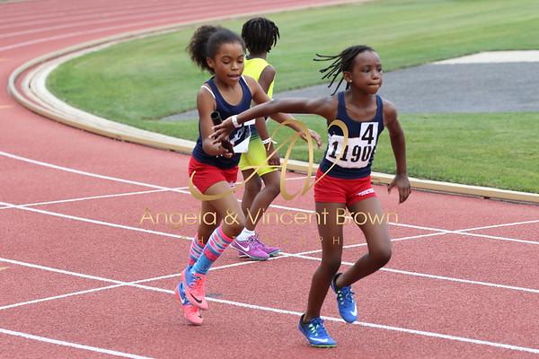 2017 AAU RegQual : Girls 4x100m Relay