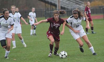 Varsity Girls Soccer vs Joel Barlow - 11/15/2011