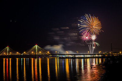 Fireworks Over The Mississippi 2015
