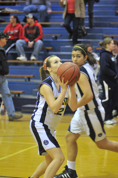 GCMS Girls 8th Basketball 2011-12