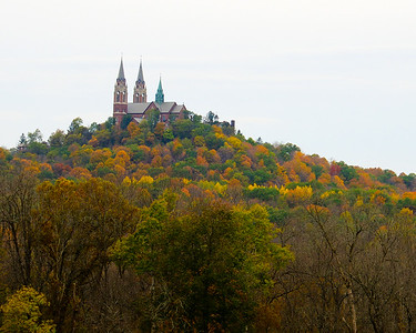 Holy Hill Basilica and National Shrine in Wisconsin