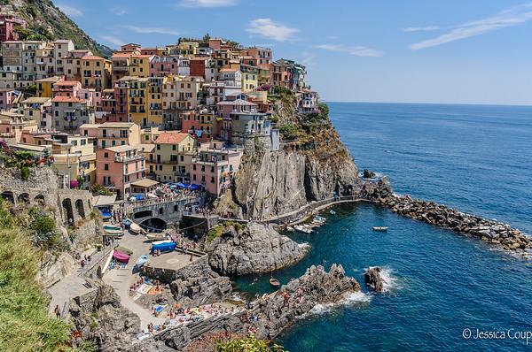 Vernazza, Coniglia, Manarola and Riomaggiore, Liguria