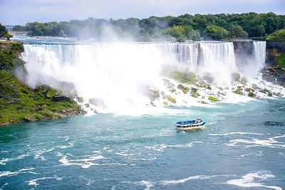 Niagara Falls State Park (winter video)