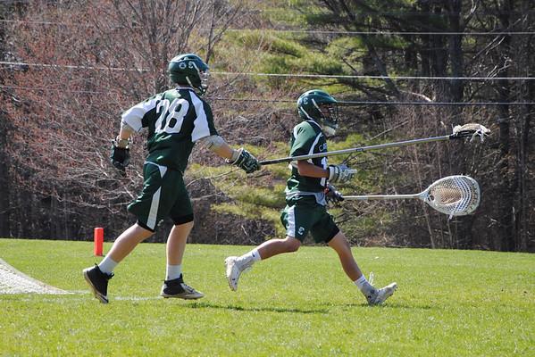 Varsity Lacrosse vs. Brewster Academy