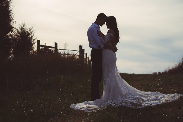 Tori & Hunter. Married