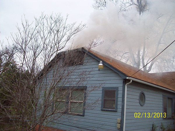 House fire on Dallas Street by Alan Wilcher