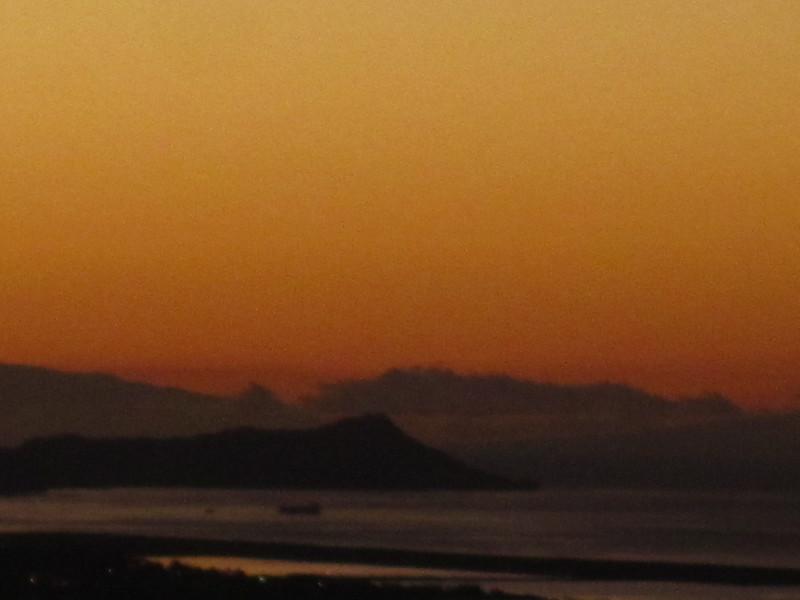 Hawaii - Sunset from Home-2.JPG