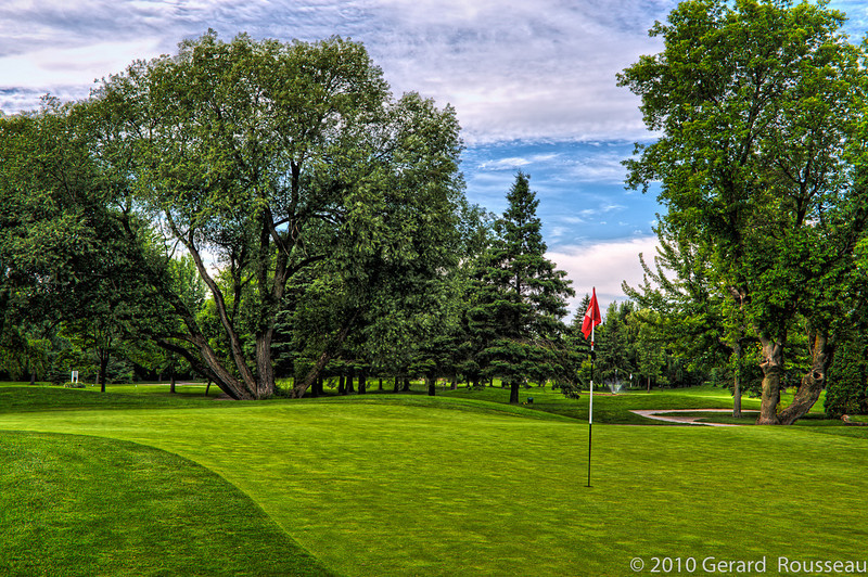 Club de Golf Le Portage ( green 17 trou )