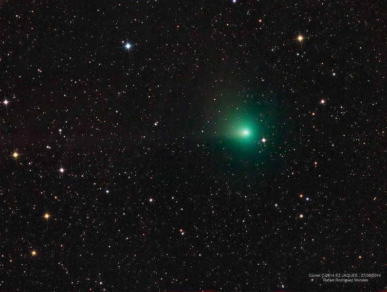 Comet C/2014 E2 JAQUES