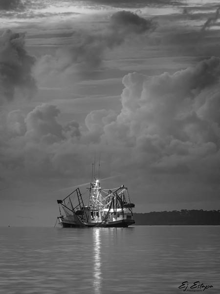 Shrimp Boat at Dawn.