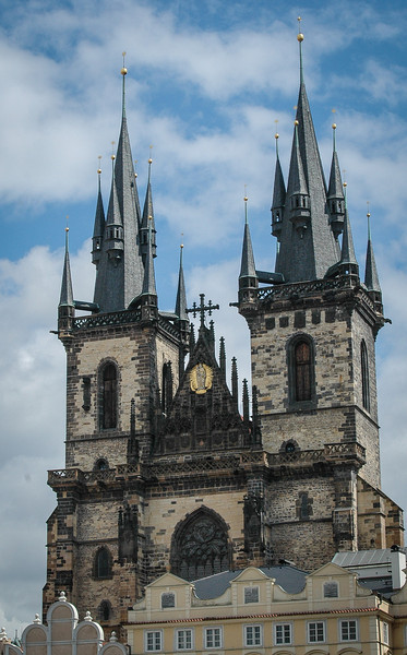 Prague: Old Town, Tyn Church steeples