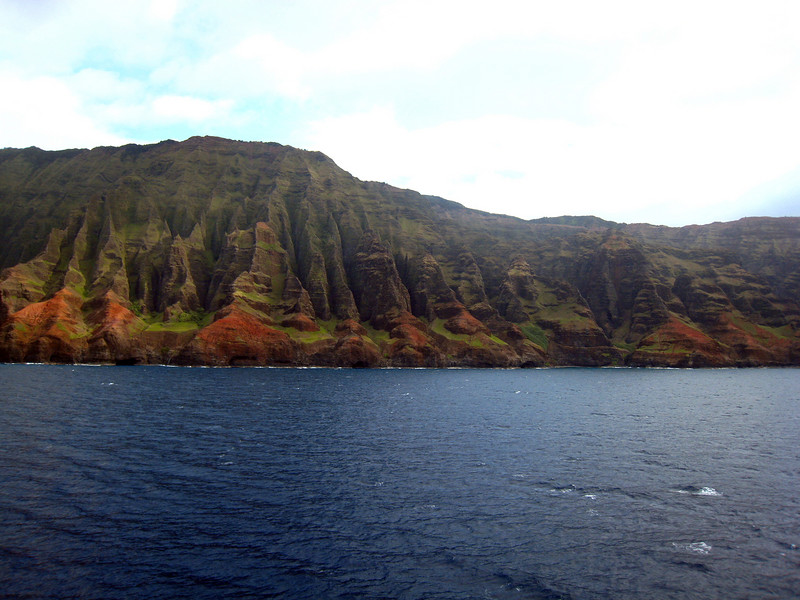 Cruising Napilli Coast of Kauai