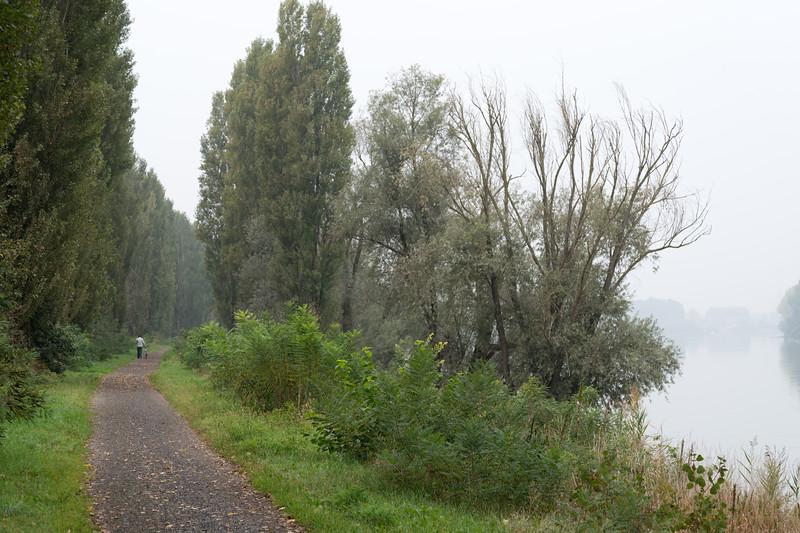 Po River Trail - Boretto, Reggio Emilia, Italy - October 8, 2014