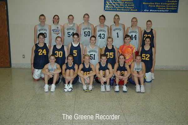 Girls Bball Team Photos
