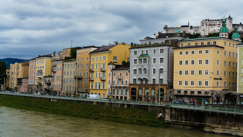 Salzburg: The Salzach River
