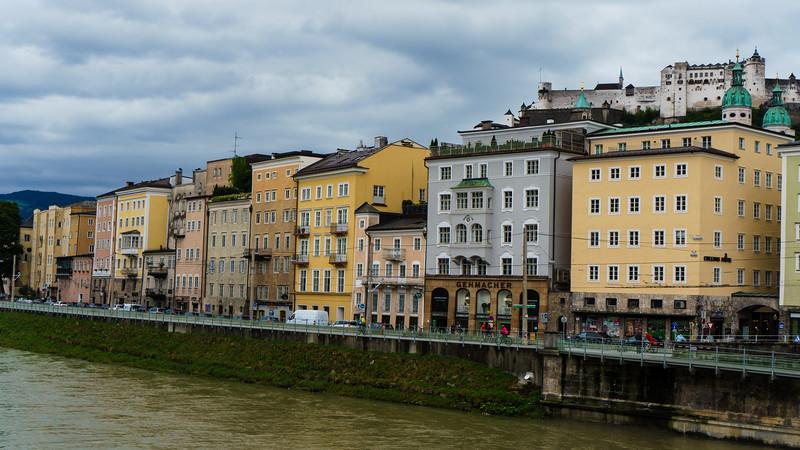 Salzburg: The Salzach River
