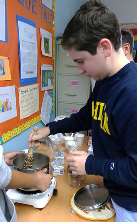 "Eighth-Grade Spanish Class Whips Up ""Chocolate Caliente"""