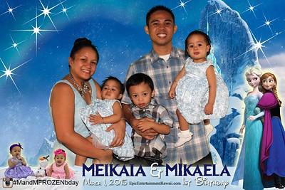 Meikaia & Mikaela 1st Birthday