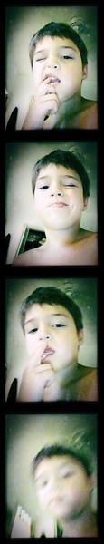 Imaginary photobooth app.