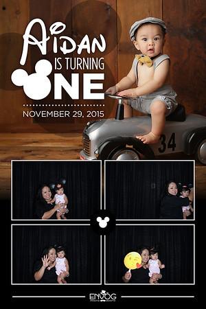 Aidan is Turning One (prints)