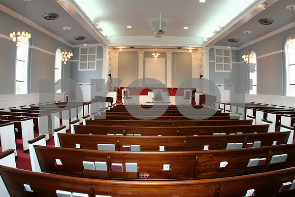 Calvary Baptist Church Completes Sanctuary Renovations - March 2006