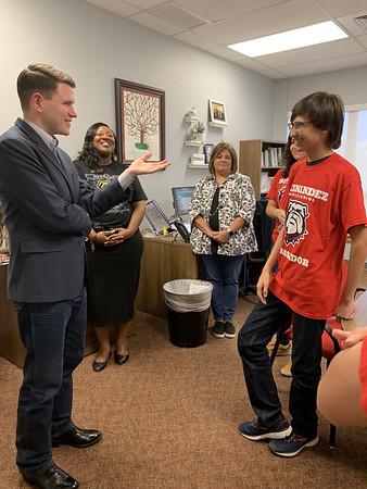 2019 Rep Talarico visit to Hernandez