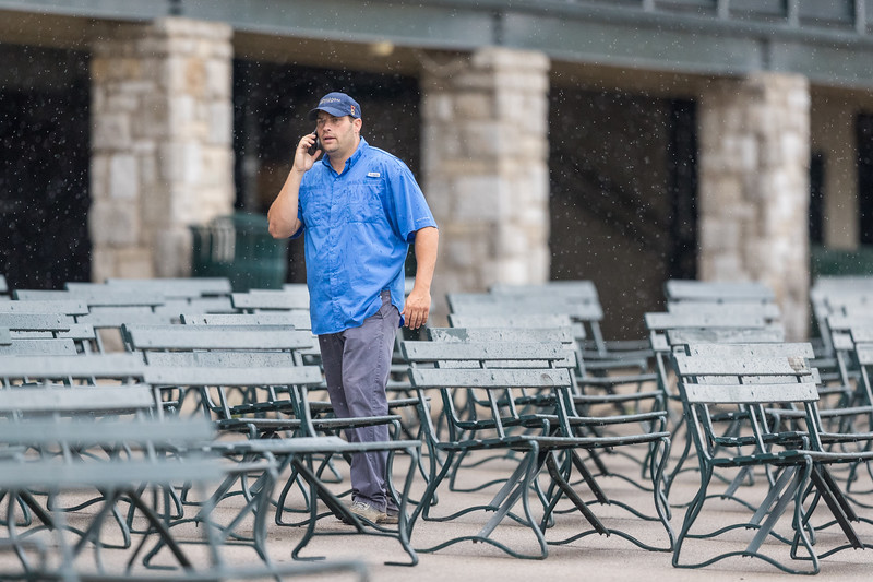 Brad Cox at Keeneland 6.25.18.