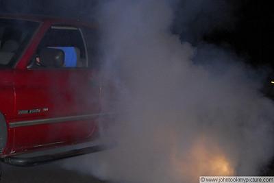 Benjie's Dodge Ram Burnout