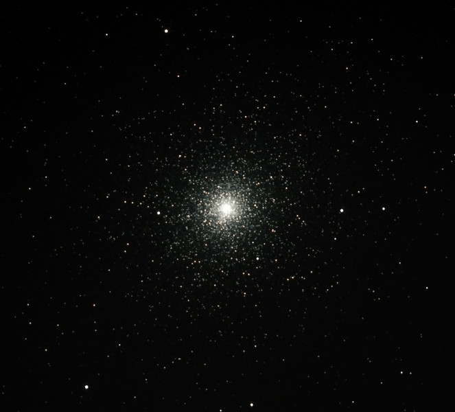 Caldwell 106 - NGC104 - 47 Tucanae Globular Cluster - 17/08/2012 (Processed cropped stack)