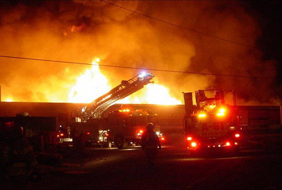 WEST BRUNSWICK TOWNSHIP COMMERCIAL STRUCTURE FIRE 9-20-08